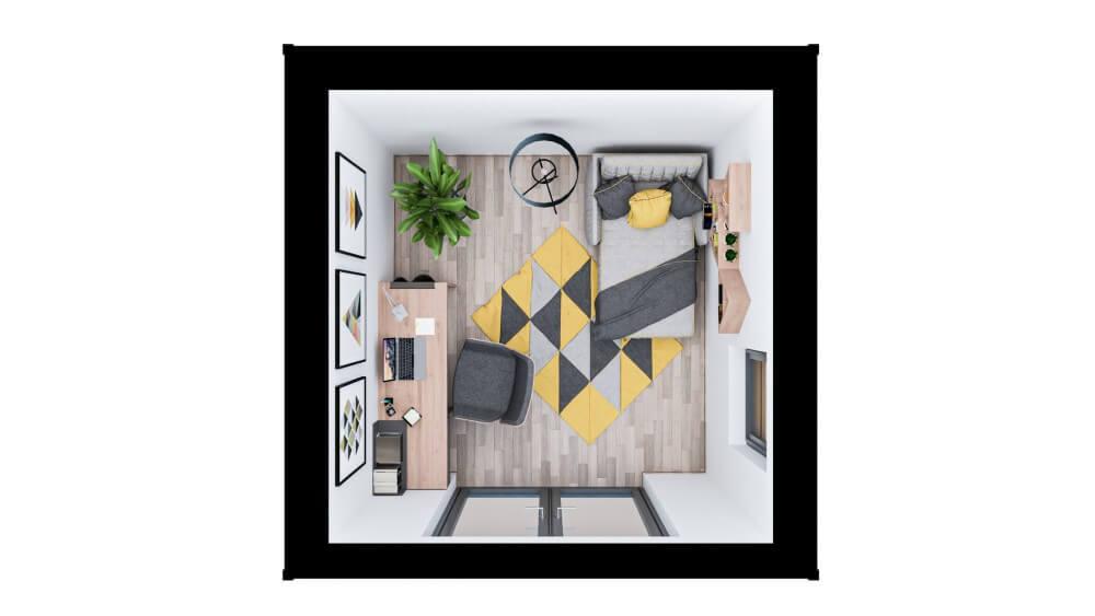 Ashton Garden Room - layout