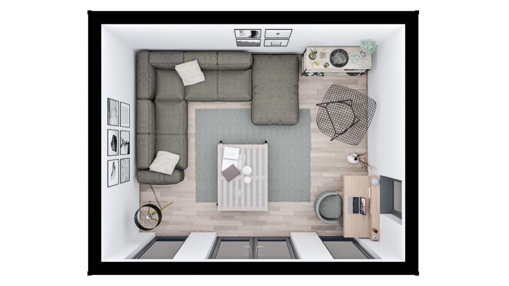 Clifton Garden Room - layout