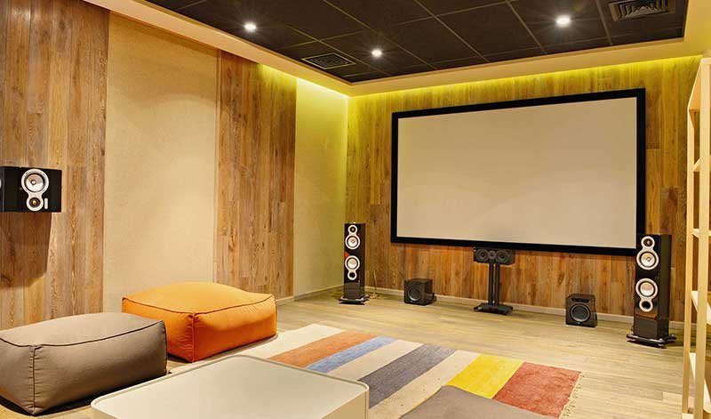 Home cinema - Garden Room