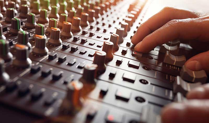 Music mixing - Garden Room Studio